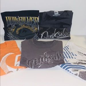 Quiksilver tees 5 for $25
